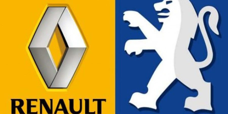 Logo Renault & Peugeot