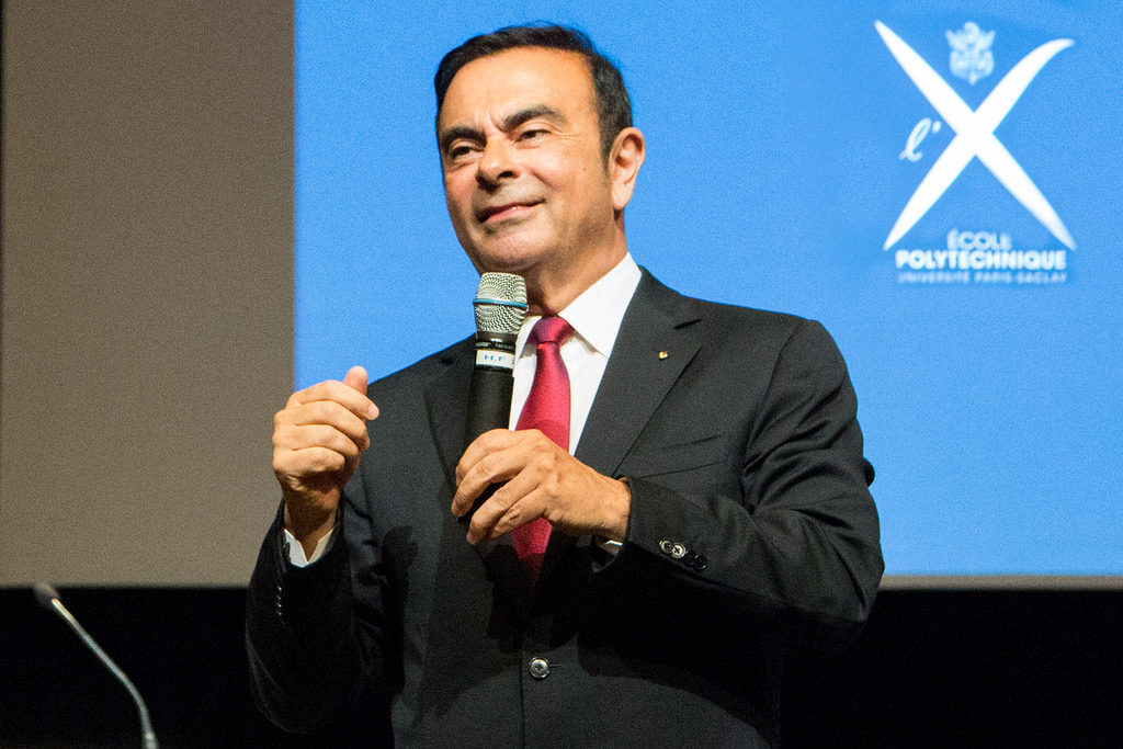 Carlos Ghosn à l'Ecole Polytechnique